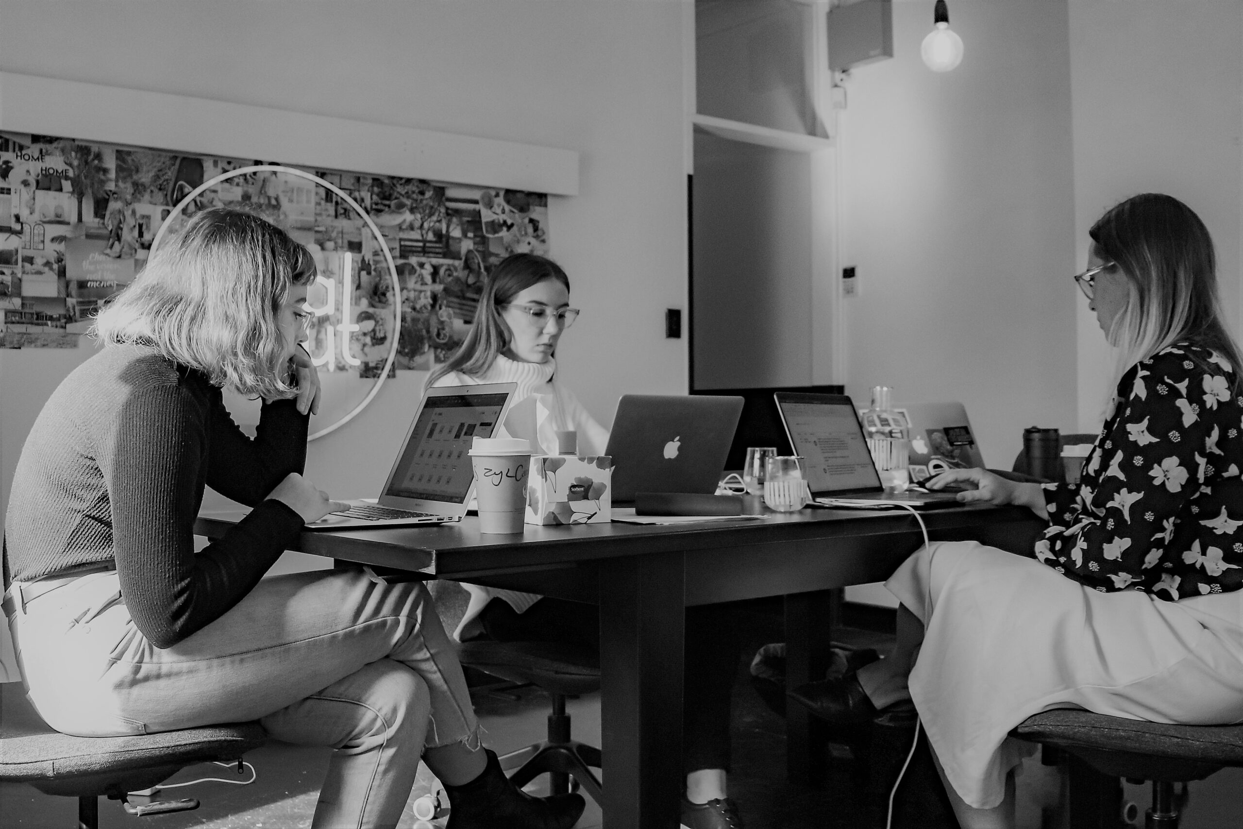 Arbeit in Coworking-Spaces